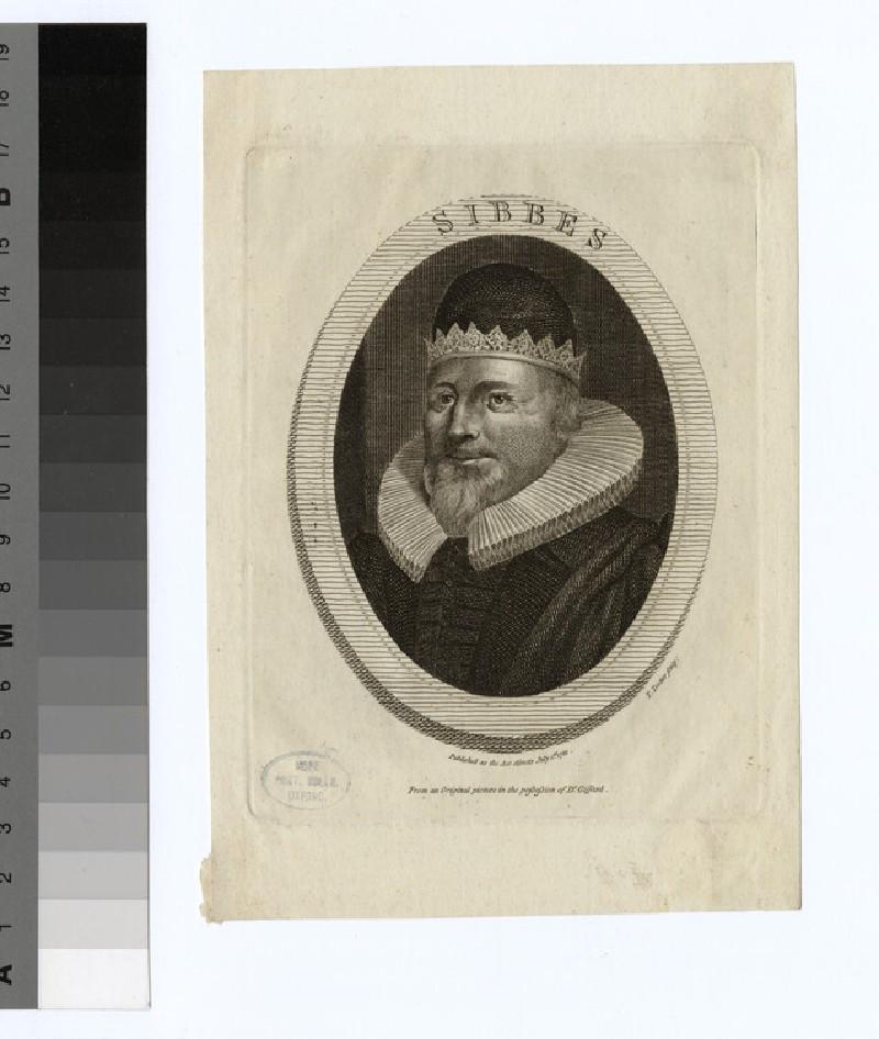 Portrait of R. Sibbes