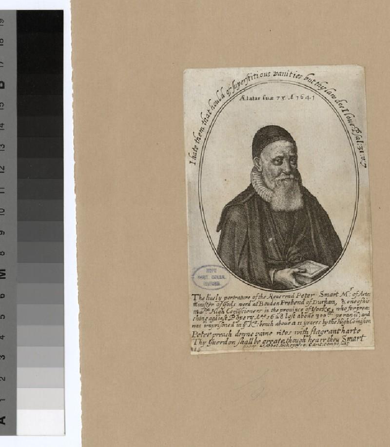 Portrait of Revd P. Smart