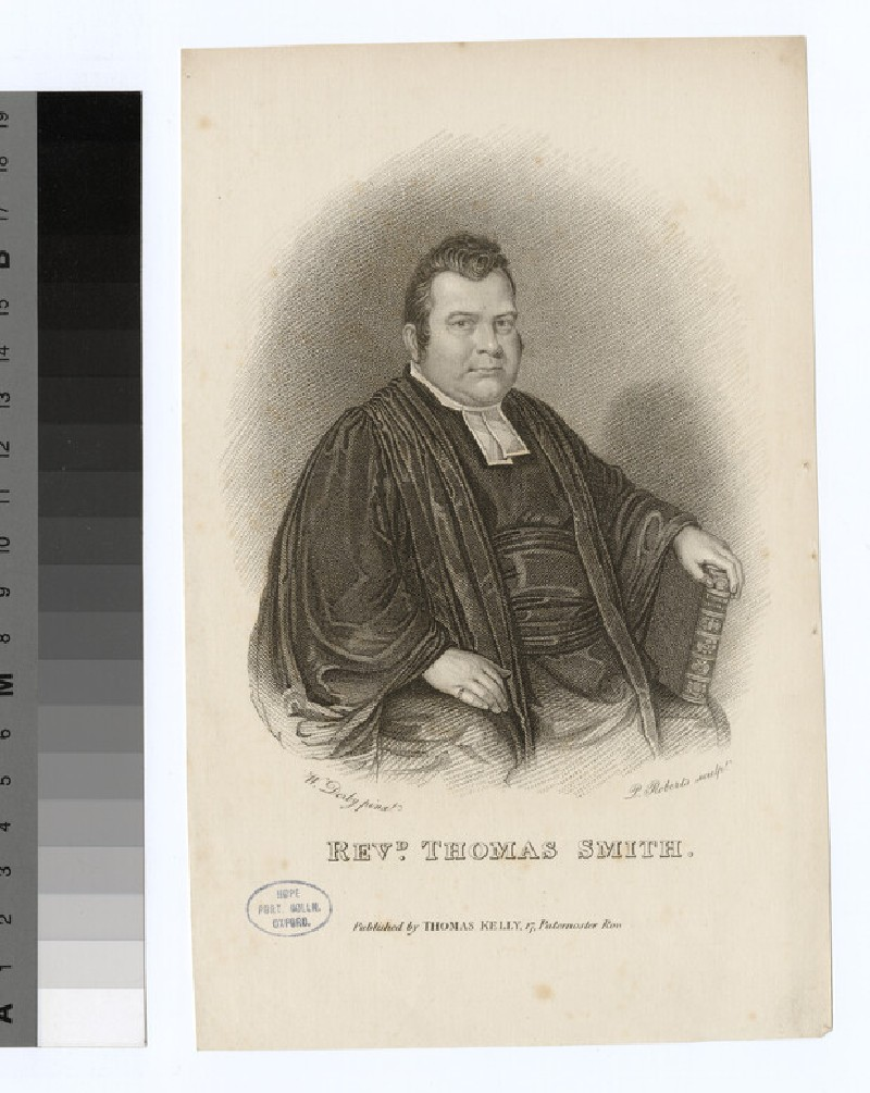 Portrait of T. Smith