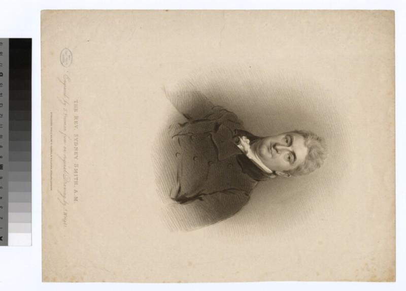 Portrait of Revd Sydney Smith (WAHP24825)