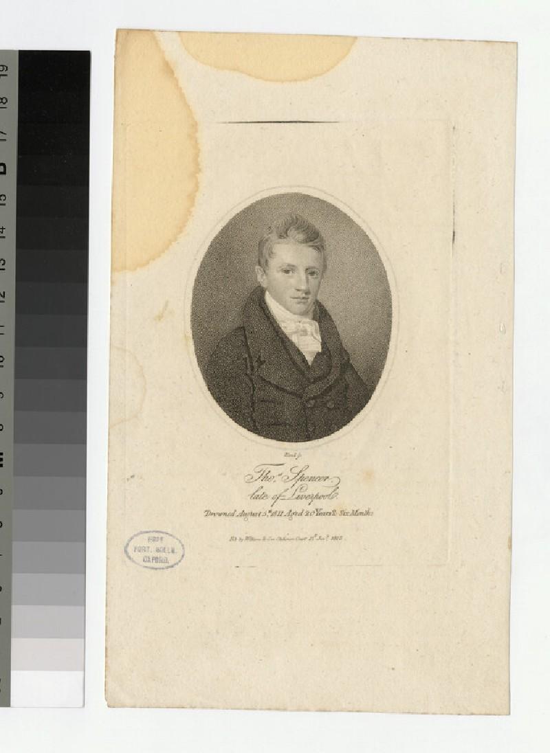 Portrait of T. Spencer