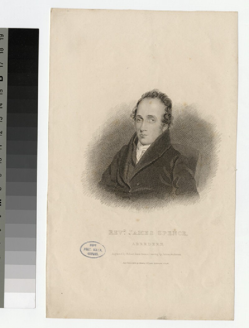 Portrait of J. Spence
