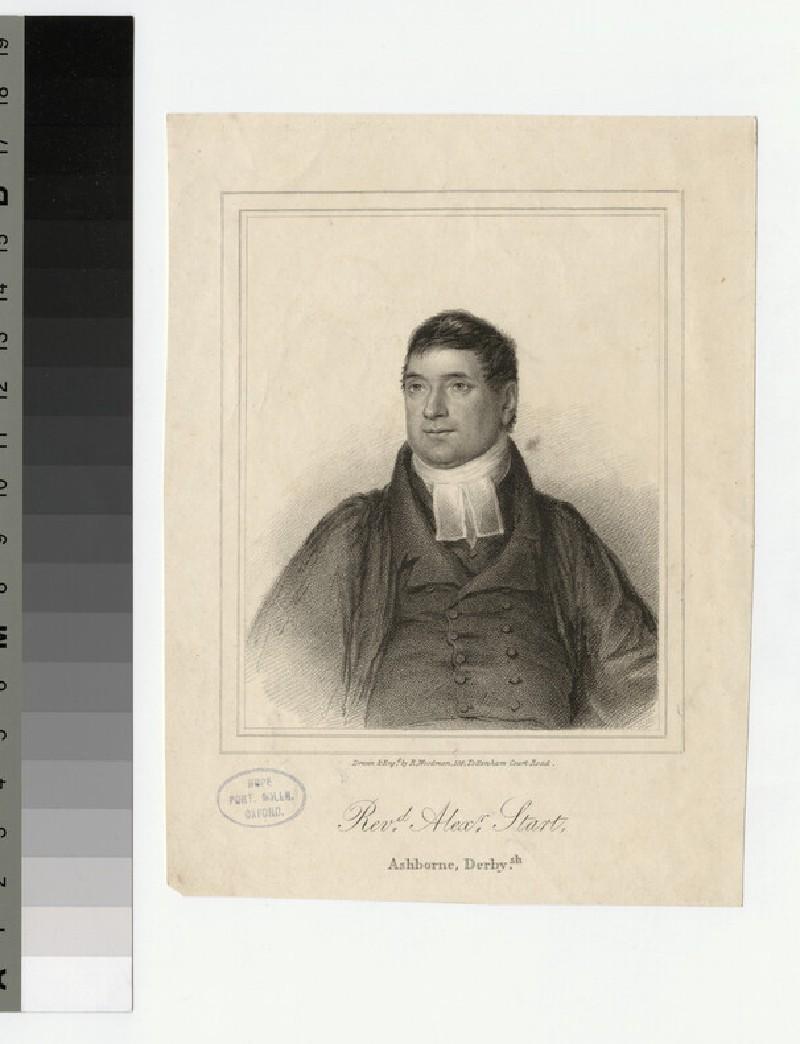 Portrait of Revd A. Start