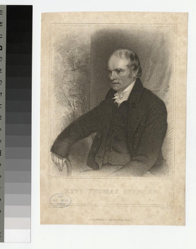 Portrait of T. Stanley