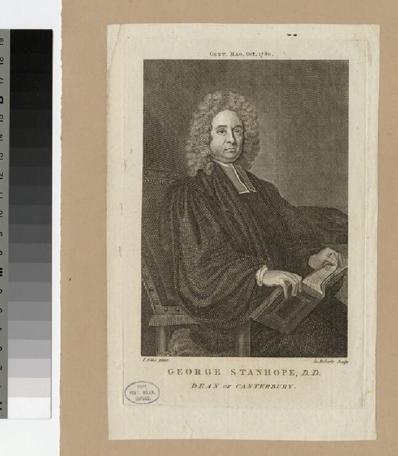 Portrait of Revd Dr G. Stanhope