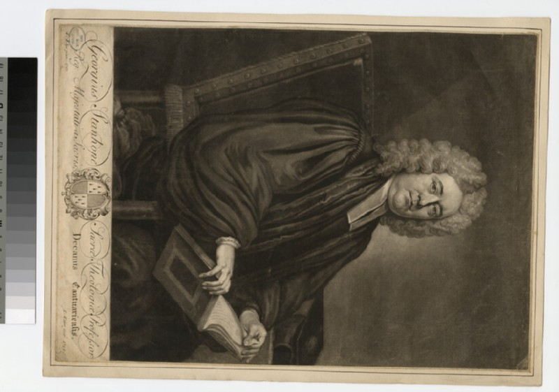 Portrait of Revd Dr George Stanhope (WAHP24875)