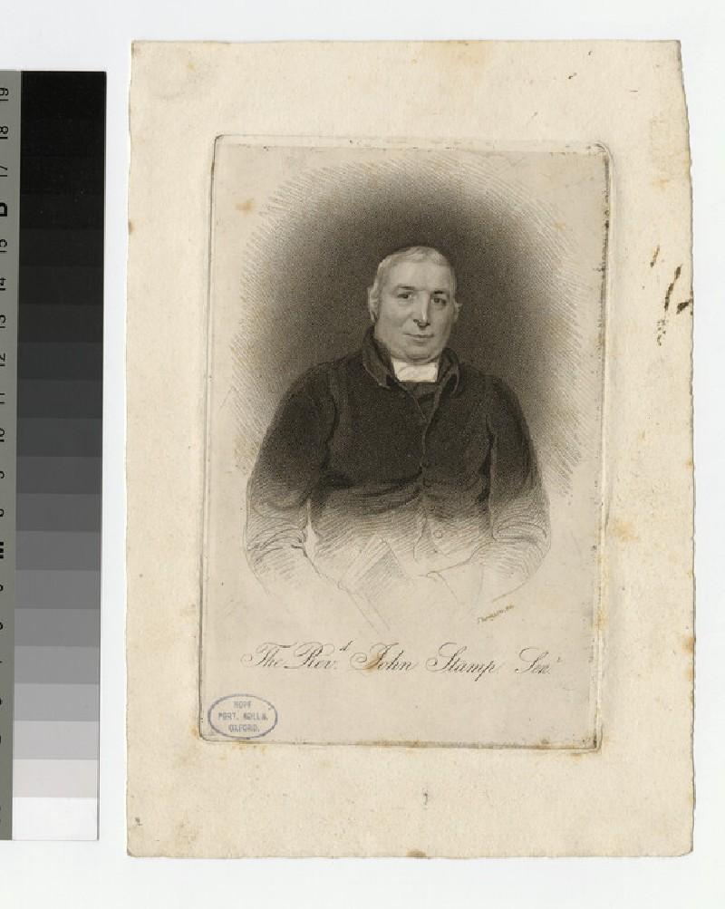 Portrait of J. Stamp the Elder (WAHP24877)