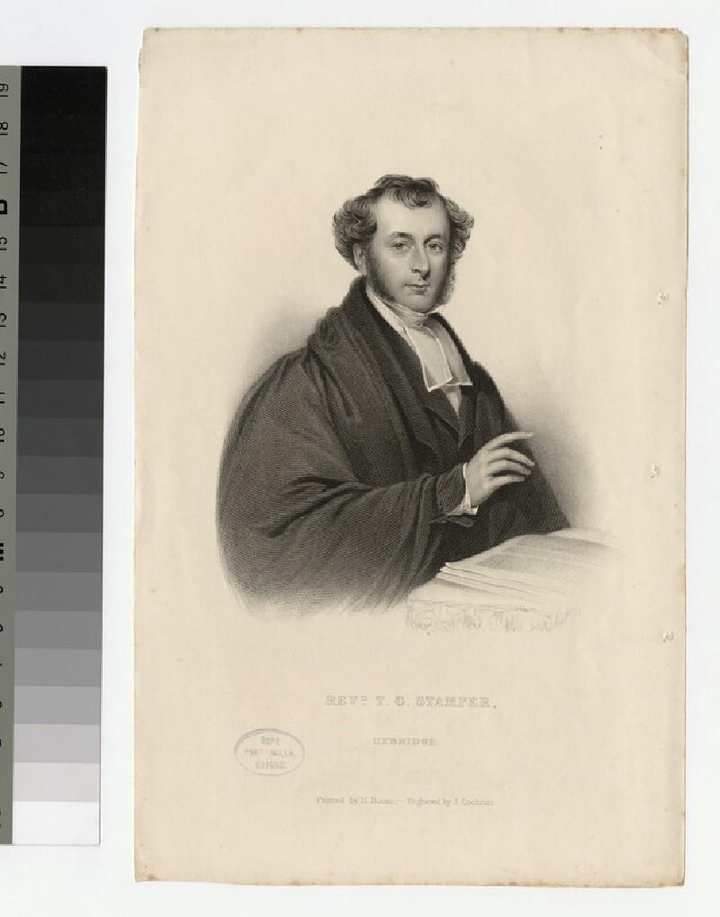 Portrait of T. G. Stamper (WAHP24879)