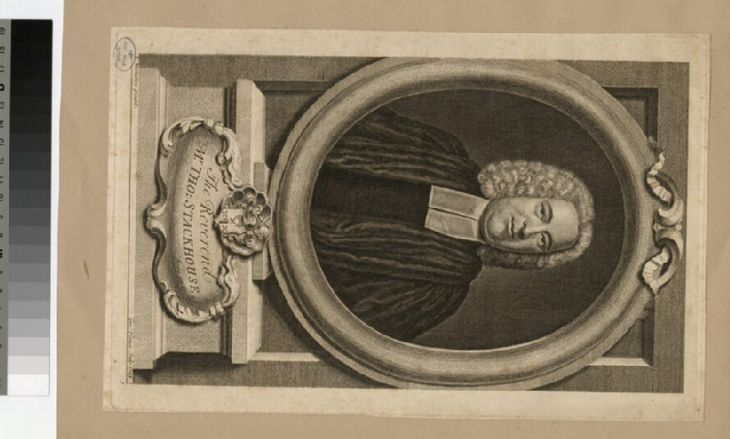 Portrait of Revd T. Stackhouse (WAHP24883.1)