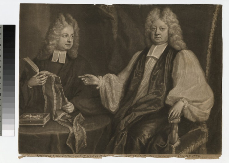 Portrait of Bishops T. and R. Sprat