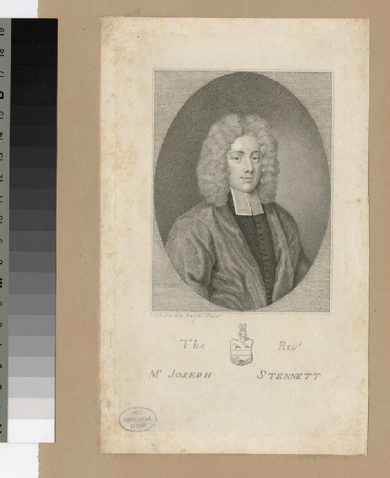 Portrait of J. Stennett