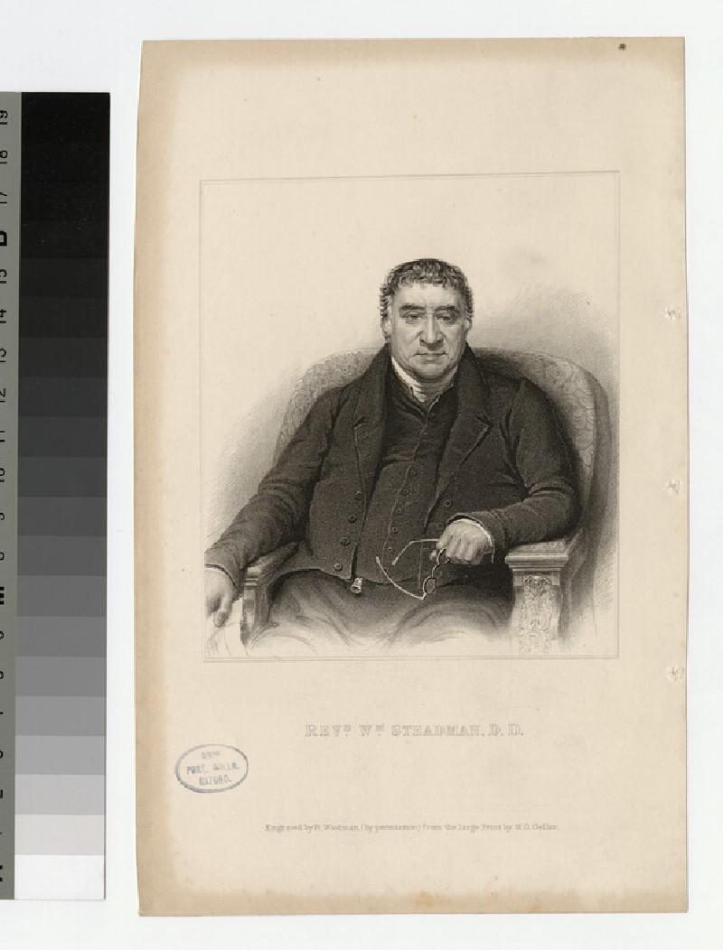 Portrait of W. Steadman