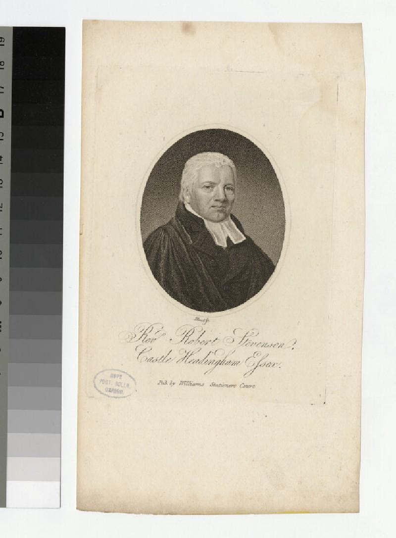 Portrait of R. Stevenson (WAHP24914)