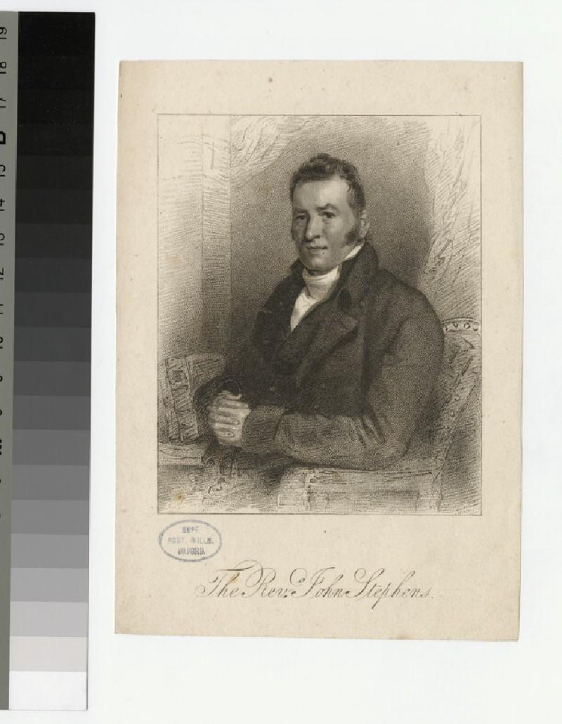 Portrait of J. Stephens