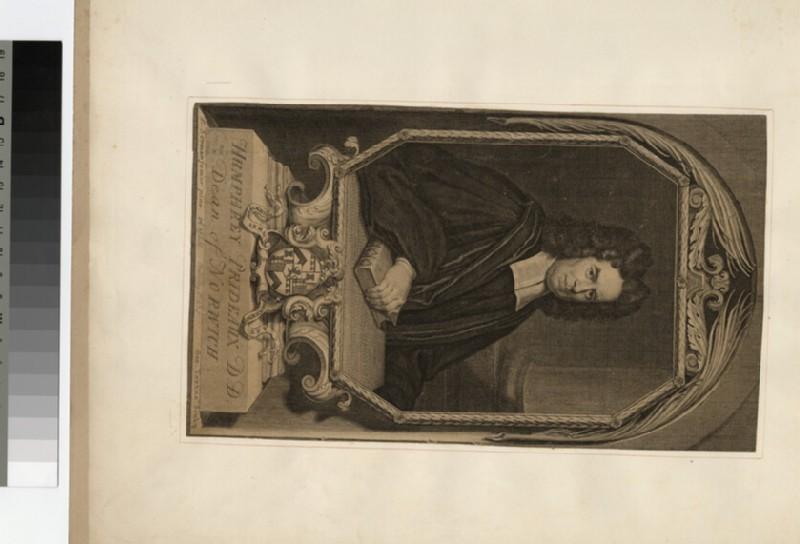 Portrait of Revd Dr H. Prideaux