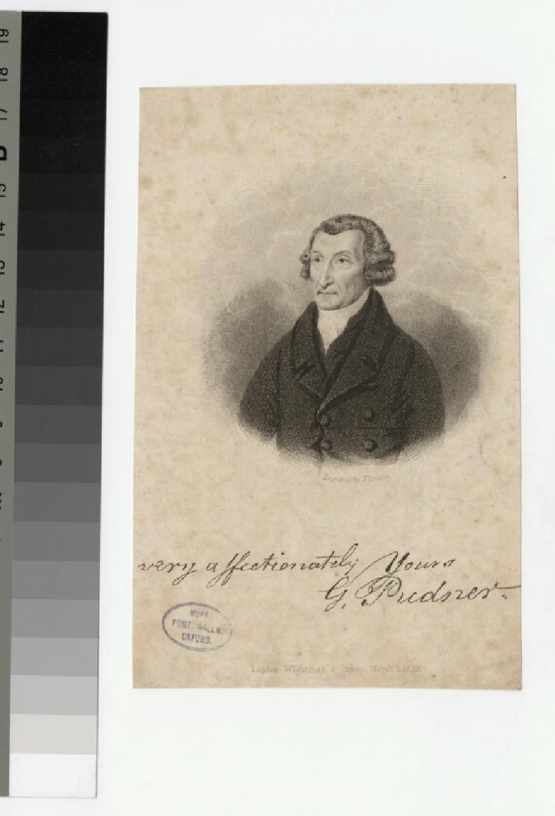 Portrait of G. Pudner
