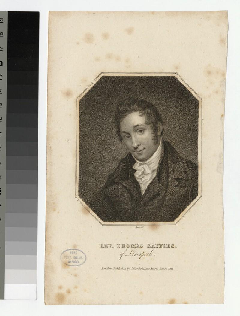 Portrait of T. Raffles (WAHP25011)