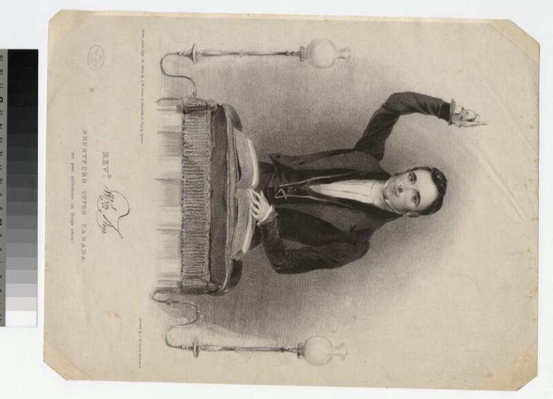 Portrait of W. Rees