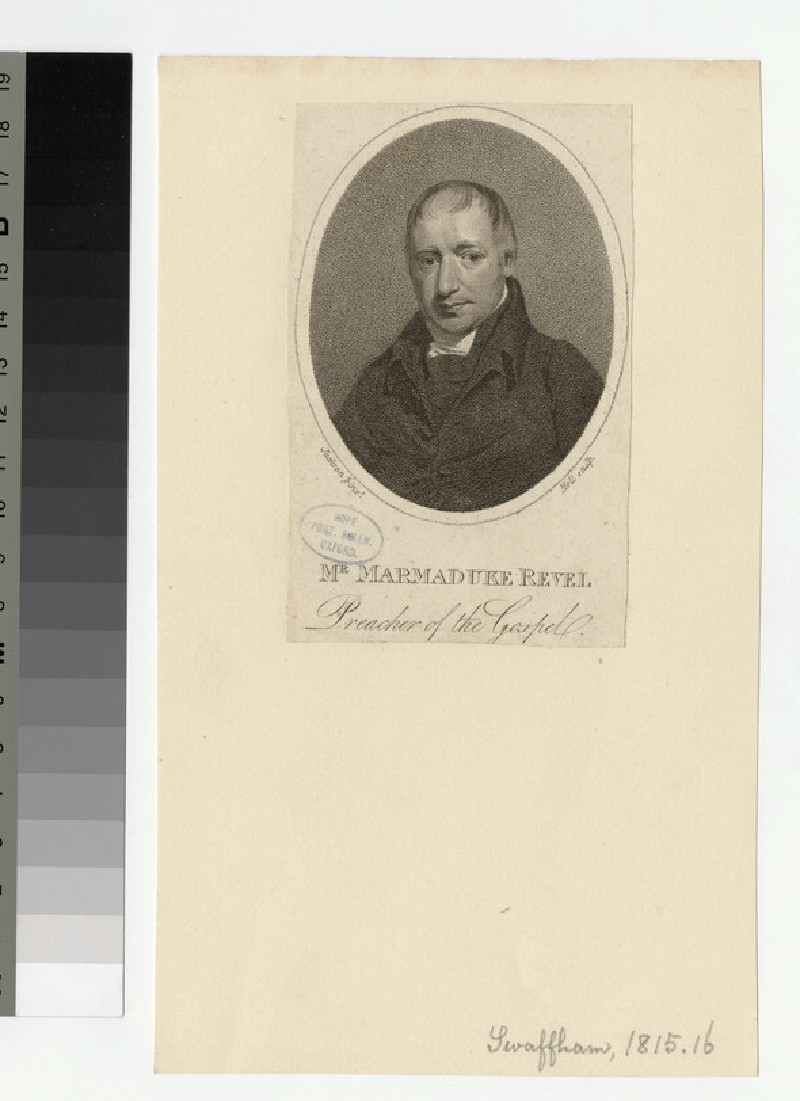 Portrait of M. Revel
