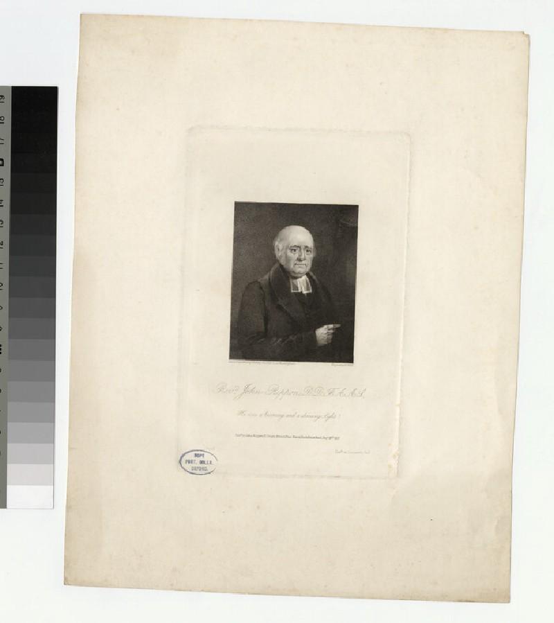 Portrait of J. Rippon
