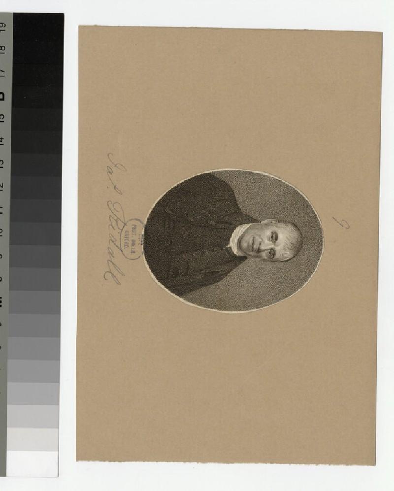 Portrait of J. Ridall