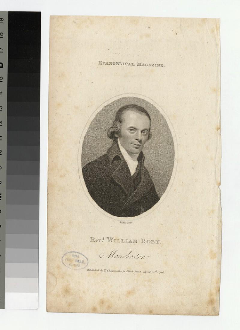 Portrait of W. Roby
