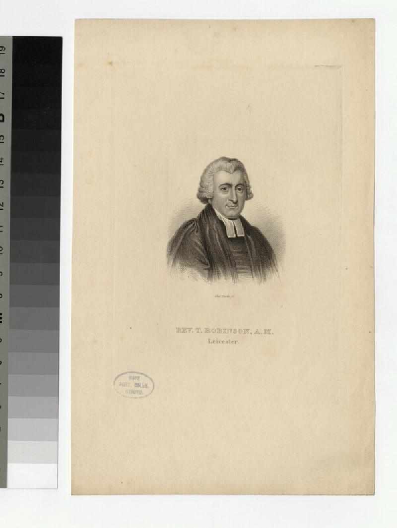 Portrait of T. Robinson