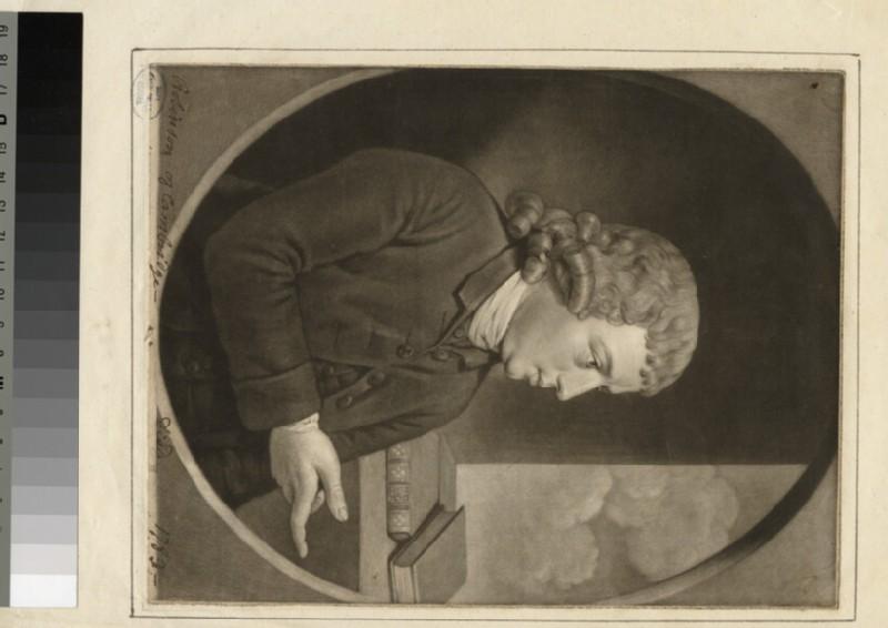 Portrait of R. Robinson (WAHP25153.1)