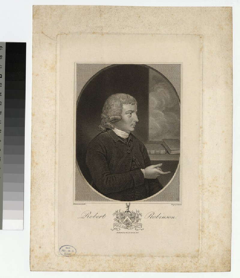 Portrait of R. Robinson (WAHP25156)