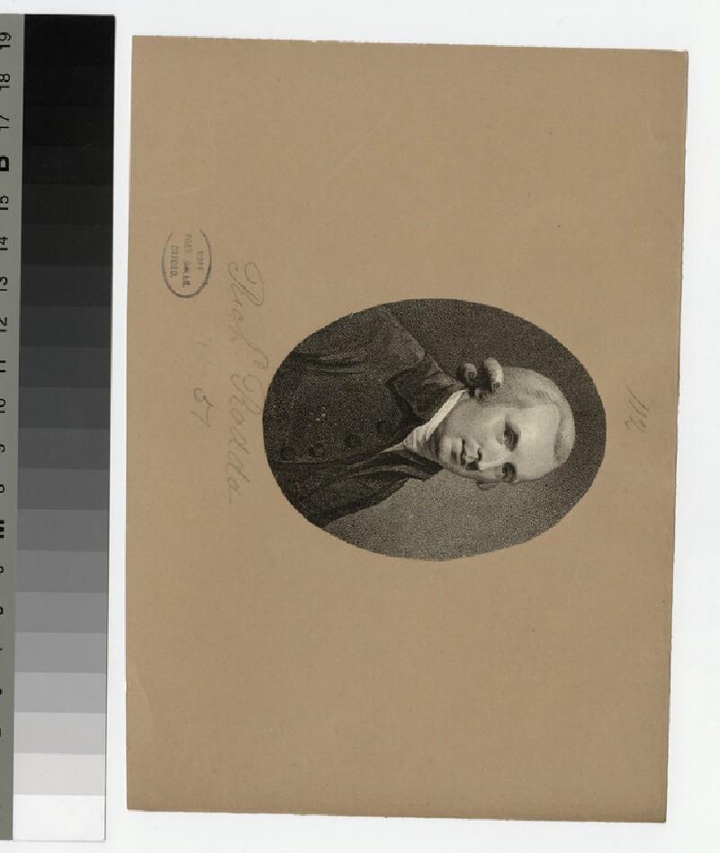 Portrait of R. Rodd