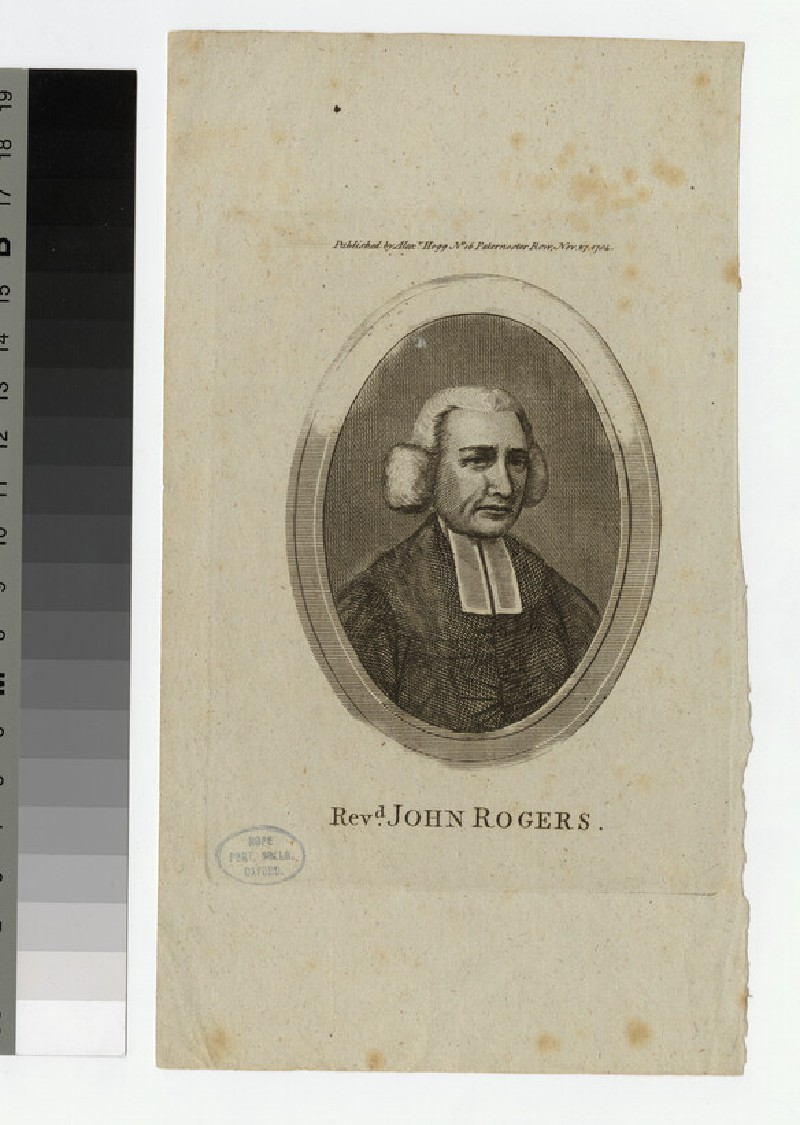 Portrait of J. Rogers (WAHP25179)