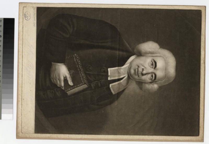 Portrait of the Revd Mr John Rogers, VDM (WAHP25180)