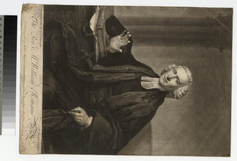 Portrait of Revd W. Romaine (WAHP25210.1)