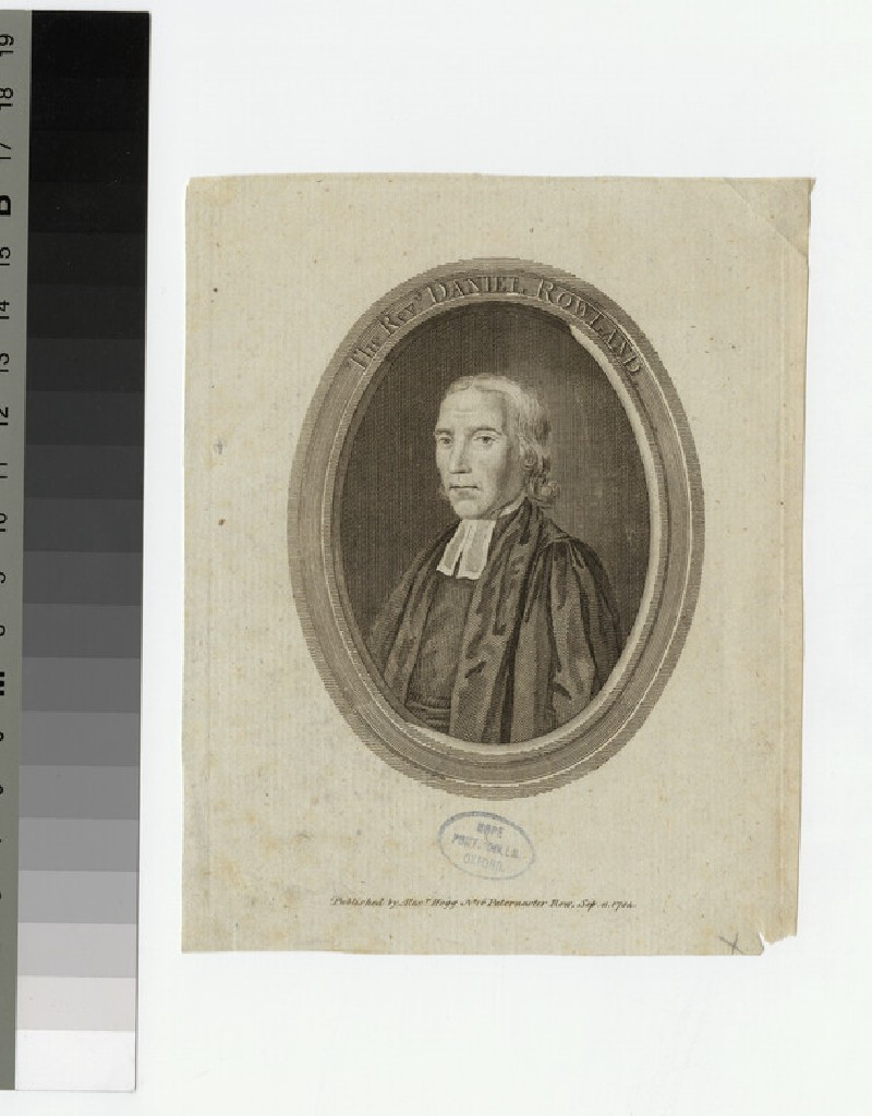 Portrait of D. Rowland