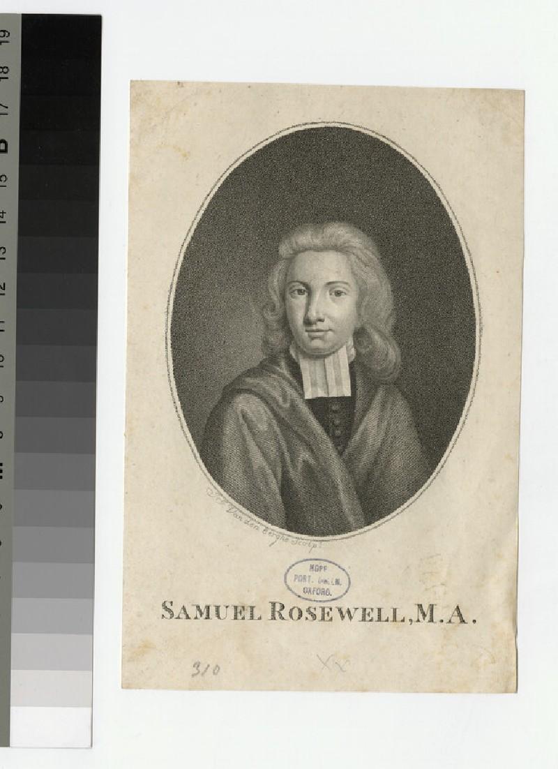 Portrait of Samuel Rosewell
