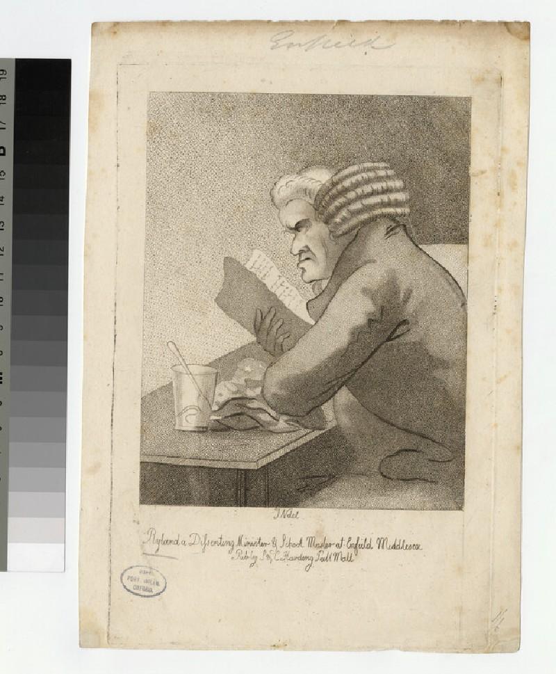 Portrait of John Ryland (WAHP25246)