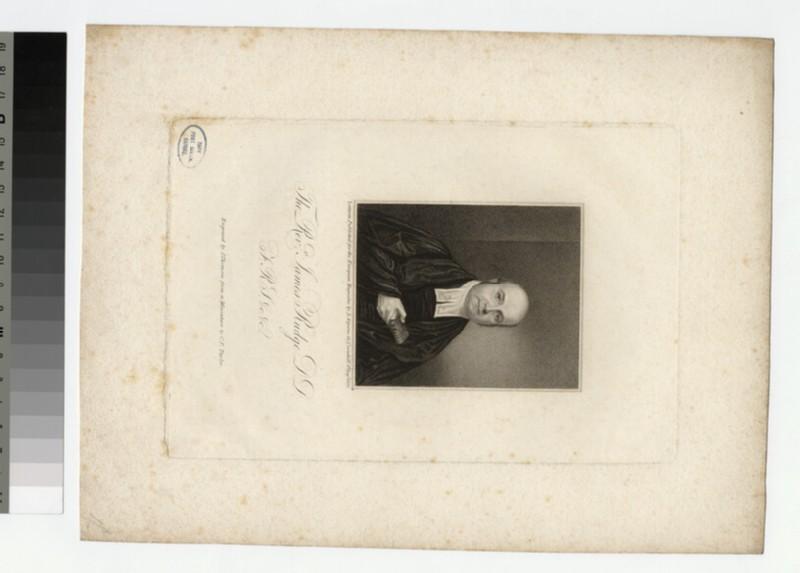 Portrait of J. Rudge