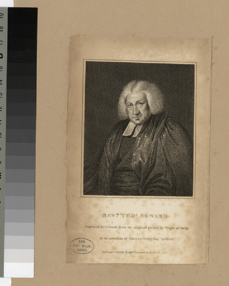Portrait of T. Seward