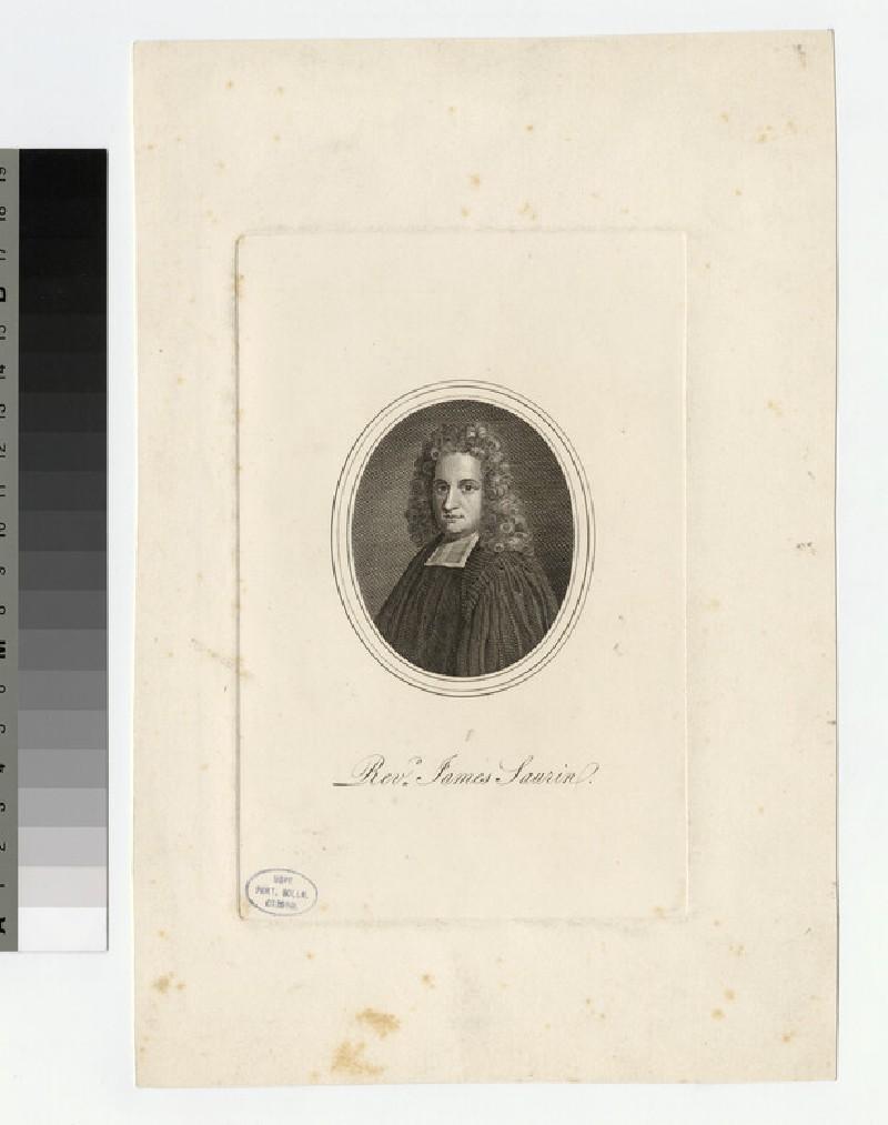 Portrait of J. Saurin (WAHP25307)