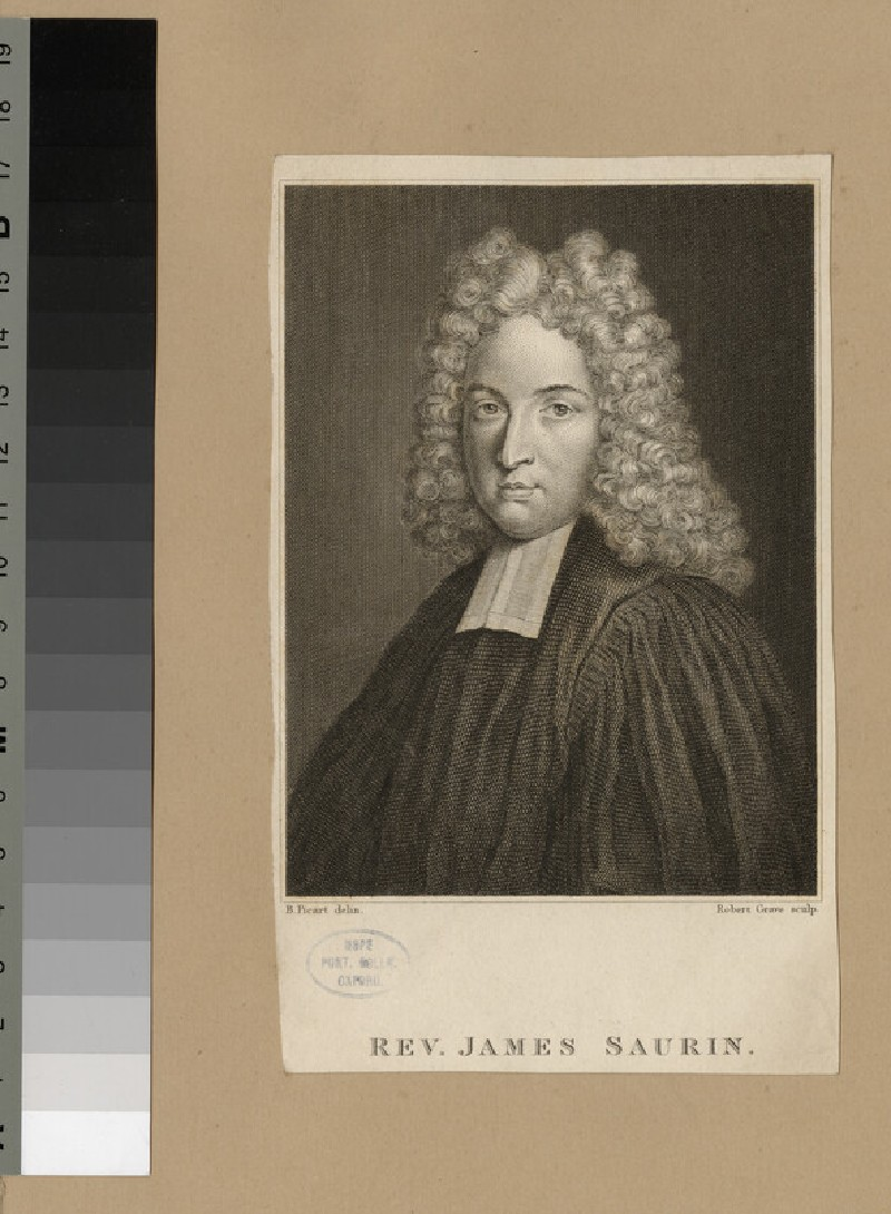 Portrait of the Revd James Saurin