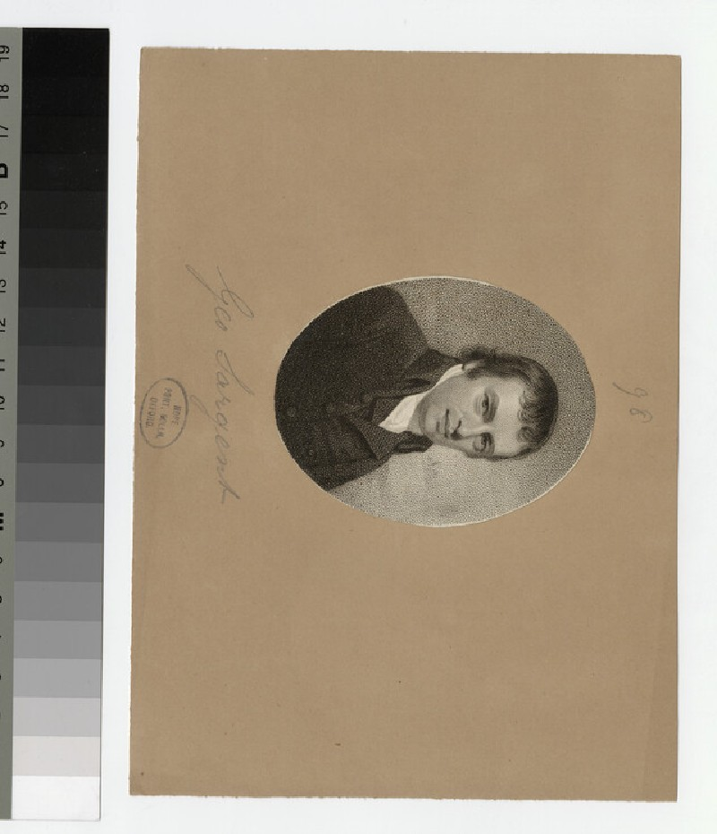 Portrait of G. Sargent