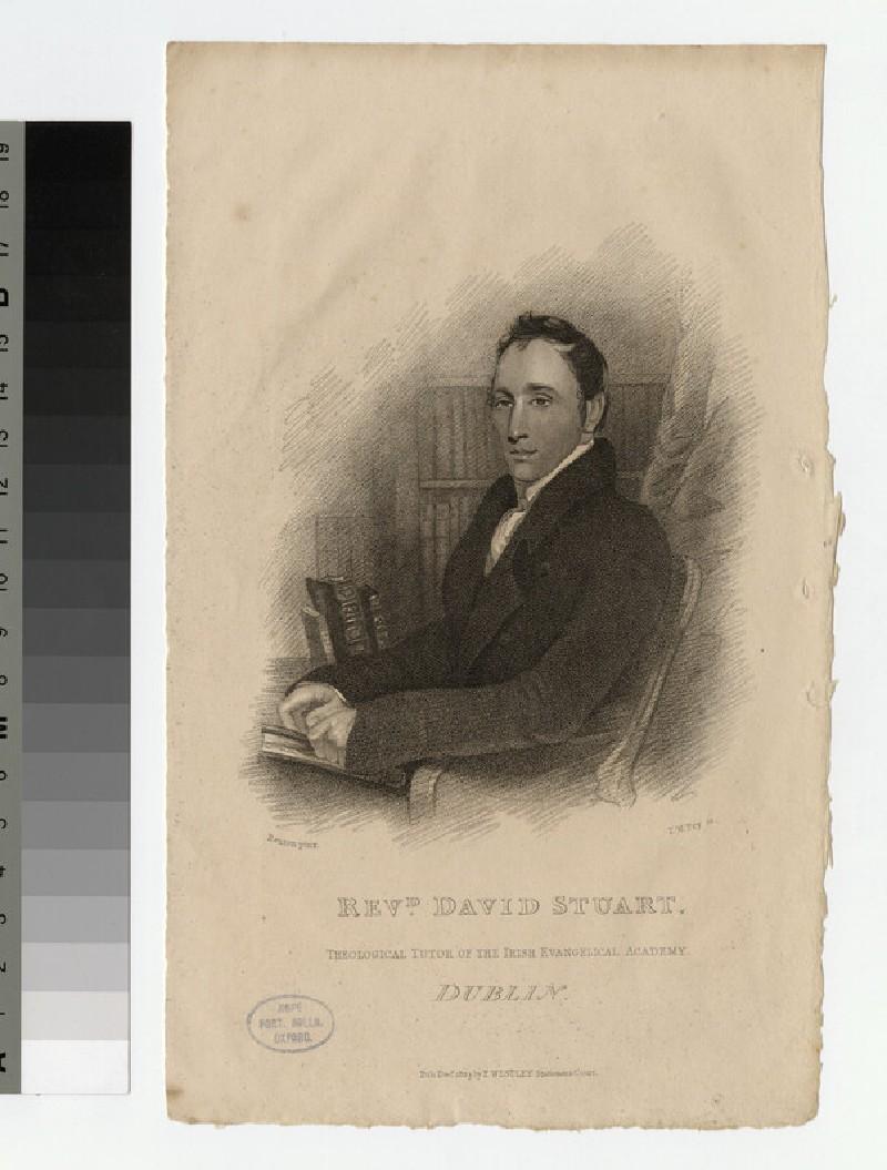 Portrait of D. Stuart (WAHP25372)