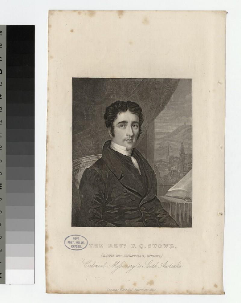 Portrait of T. Q. Stowe