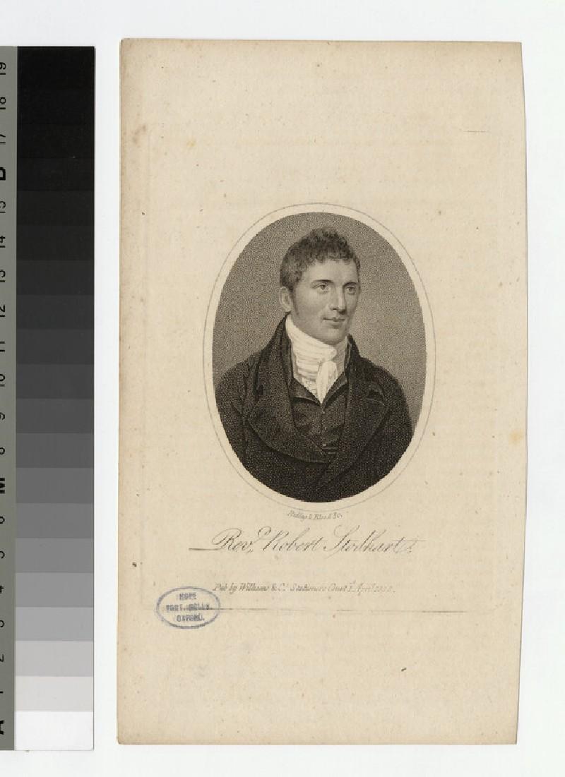 Portrait of R. Stodhart
