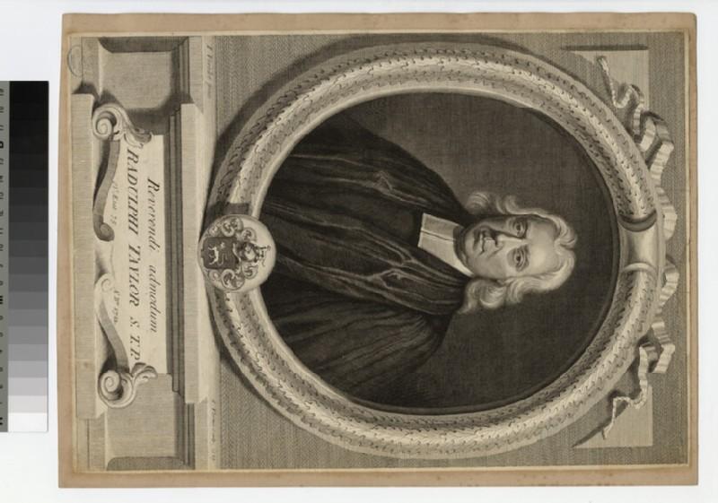 Portrait of Revd Dr R. Taylor