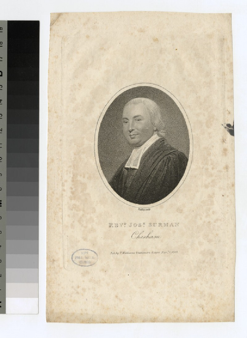 Portrait of J. Surman