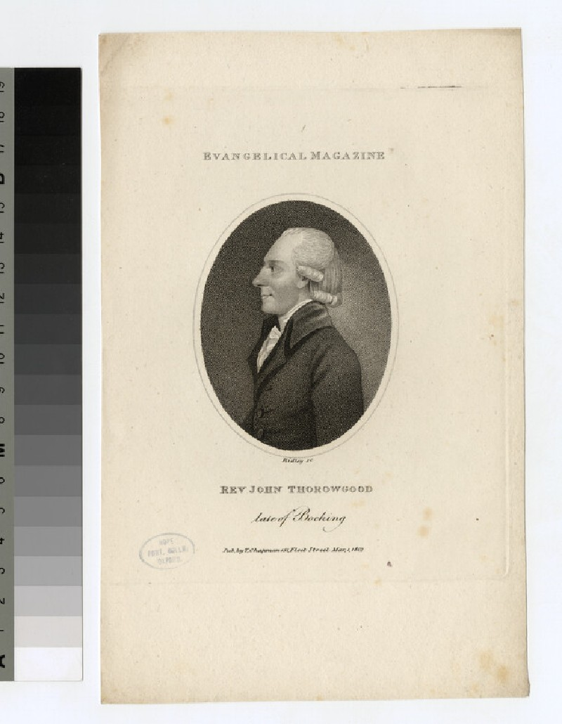 Portrait of J. Thorowgood