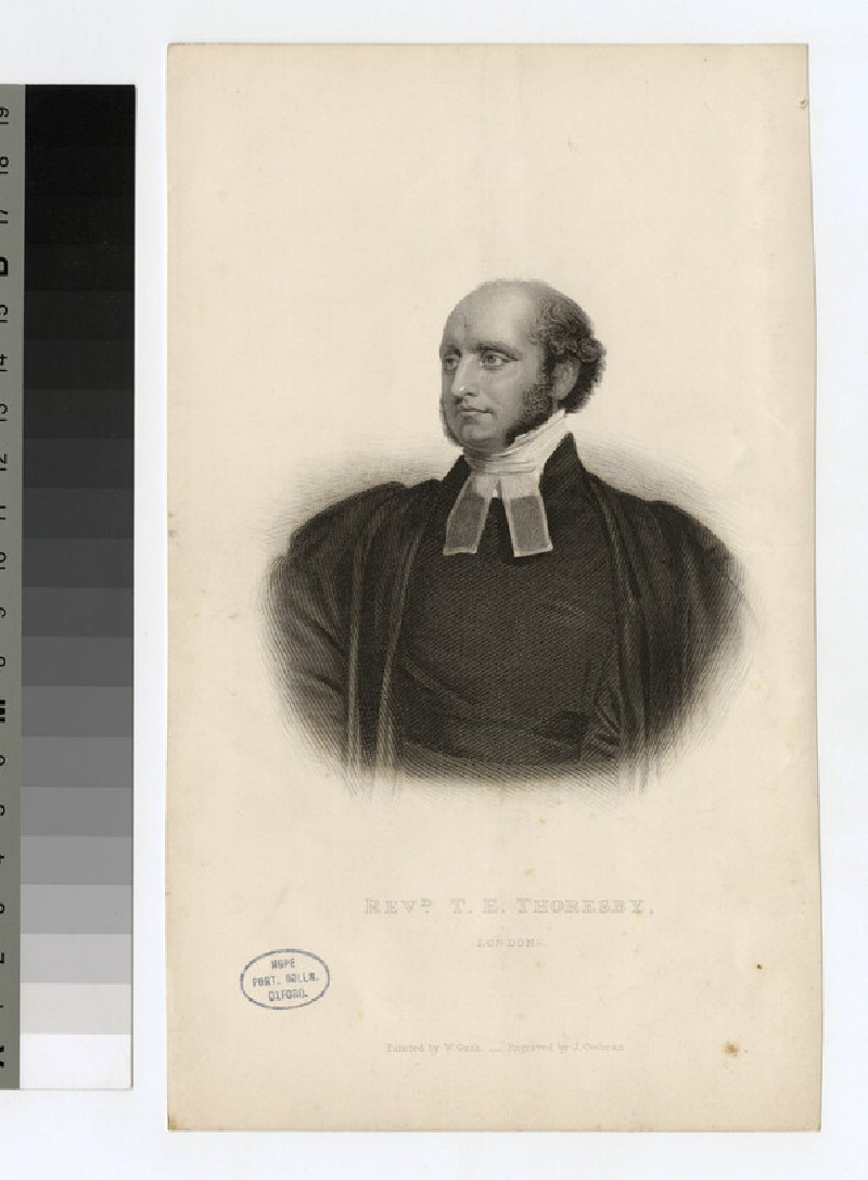 Portrait of T. E. Thoresby (WAHP25480)