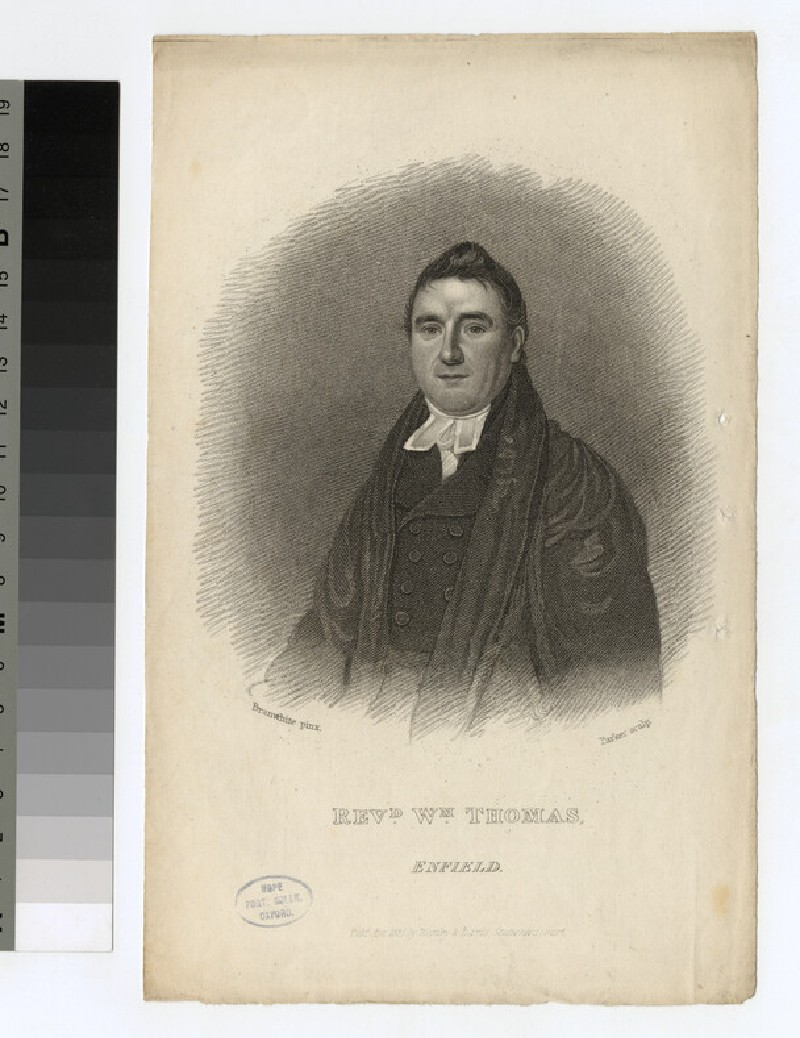 Portrait of W. Thomas