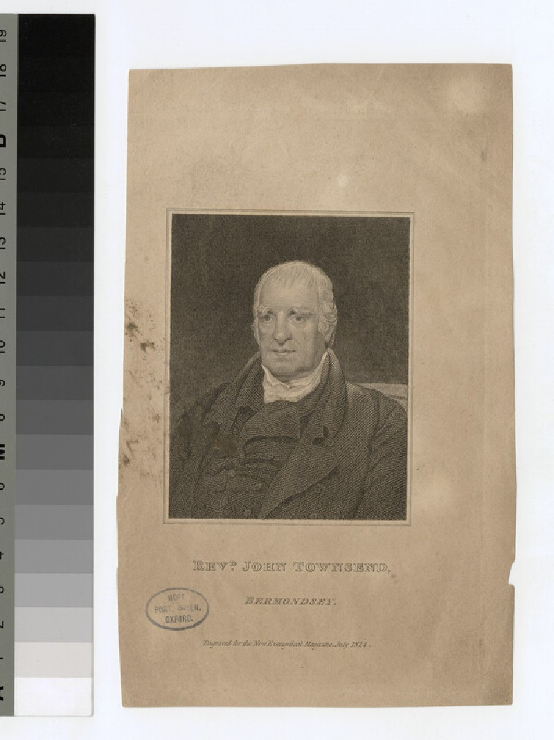 Portrait of J. Townsend (WAHP25515)